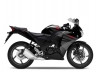 Honda CBR125R Asteroid Black Metallic